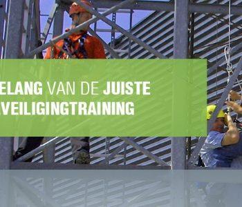 Training is belangrijk in het voorkomen van valongevallen